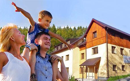 Příjemný pobyt v Jizerkách s chutnou polopenzí