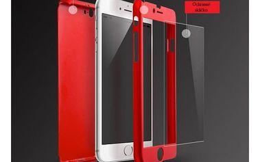 Kryt na iPhone s ochranným sklem (různé druhy)