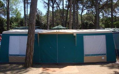 Itálie, Caorle: 7-10 nocí pro 1 os., kemp s bazény, stany, doprava vlastní či autobusem