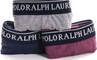 Pánské boxerky Raplh Lauren, barevné, 3ks