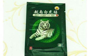 Léčivé náplasti s tygří mastí