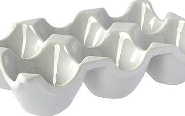 Porcelánový podnos na vajíčka