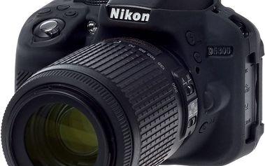 Easy Cover silikonový obal pro Nikon D5300, černá - ECND5300B