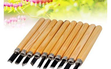 Rycí souprava s dřevěnou rukojetí