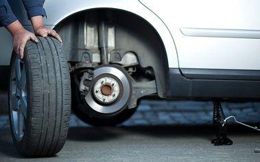 Kompletní přezutí či výměna pneumatik u osobních aut, dodávek, offroadů, vanů i tranzitů