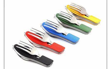 Multifunkční jídelní nástroj s otvírákem