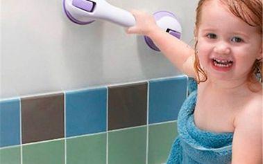 Bezpečnostní madlo do koupelny s přísavkou - 4 barvy