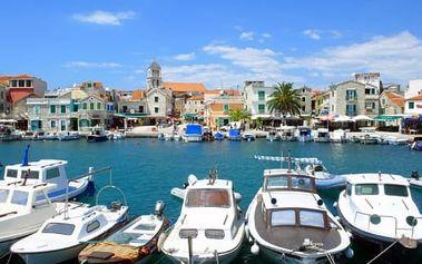 Chorvatsko - Vodice, Severní Dalmácie v TOP sezóně na 8 dní pro 1 osobu + možnost dopravy