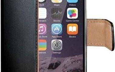 CELLY Wally pouzdro typu kniha iPhone 6 Plus/6S Plus PU kůže černé