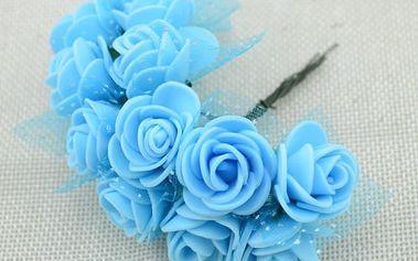 Pěnové dekorační růžičky - 13 barev