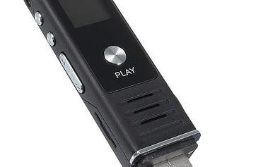 Diktafon/MP3 přehrávač s LCD displejem