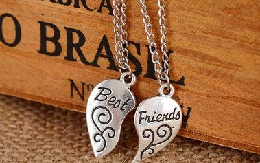 Náhrdelník přátelství - Best friends
