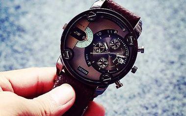 Módní pánské hodinky v ležérním provedení