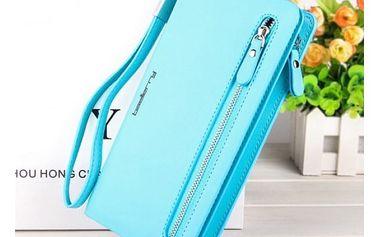 Módní dámská peněženka větších rozměrů - různé barvy