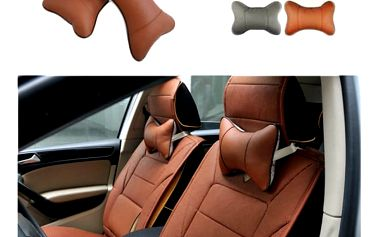 Měkká opěrka hlavy do auta - 4 barvy