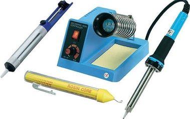 Set (Odsavač cínu CNR TOOLCRAFT ZD-190) + (Příslušenství CNR Basetech tužka s pájecím drátem) + (Pájecí stanice CNR Basetech ZD-99)