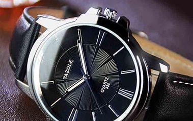 Pánské náramkové business hodinky - 4 varianty