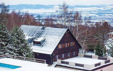 3–4denní last minute lyžovačka s wellness ve středních Čechách v penzionu Monínec