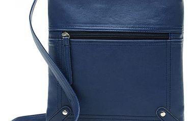 Dámská obdélníková taška přes rameno s kapsičkou