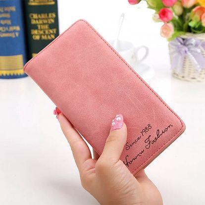 Dlouhé pouzdro na osobní doklady i hotovost - 11 barev