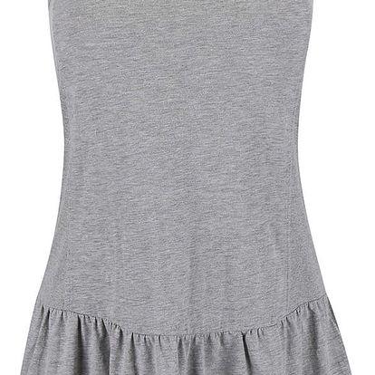 Šedé šaty Roxy Pacific