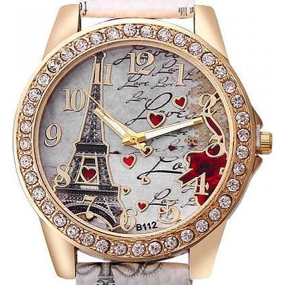 Dámské hodinky v provedení Paříže