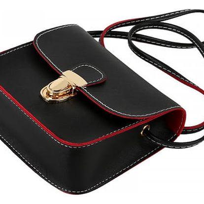 Retro kabelka s tenkým páskem