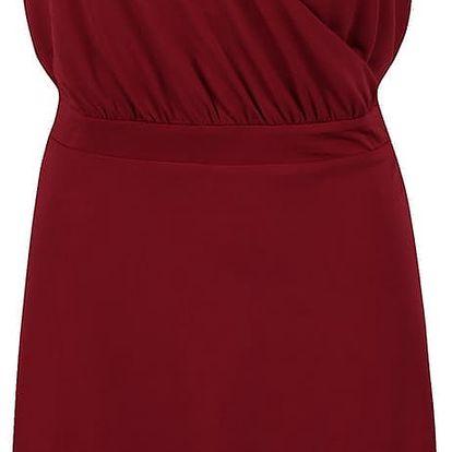 Vínové šaty s.Oliver