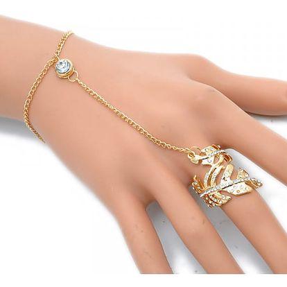 Módní set - Prsten s náramkem 2v1