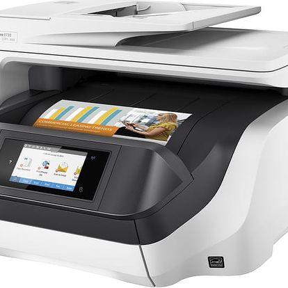 """HP Officejet Pro 8730 - D9L20A + HP 14.0"""" Dámská taška Ladies Slim černá"""