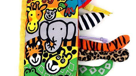 Kniha pro děti se zvířecími ocásky - 4 varianty