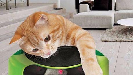 Zábavná hračka pro kočky - Chyť myšičku