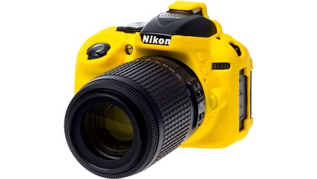 Easy Cover silikonový obal pro Nikon D5300, žlutá - ECND5300Y