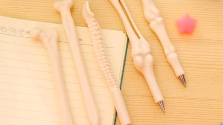 Sada propisek ve tvaru lidských kostí - 5 ks