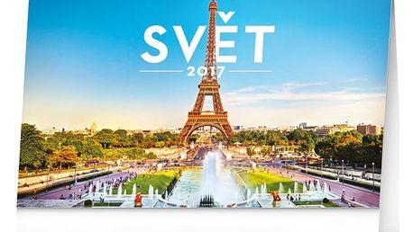 Stolní kalendář 2017 - Svět - dodání do 2 dnů