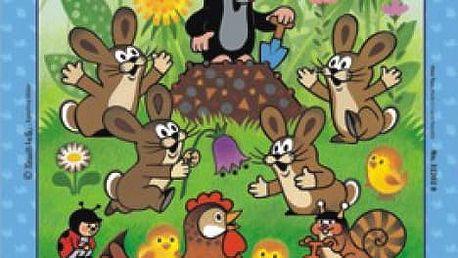 Puzzle Krtek a velikonoce