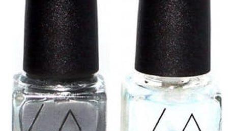 Slupovací lak na nehty se zrcadlovým efektem
