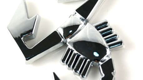 3D samolepka na automobil s motivem štíra