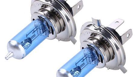 Autožárovky H4 - modré
