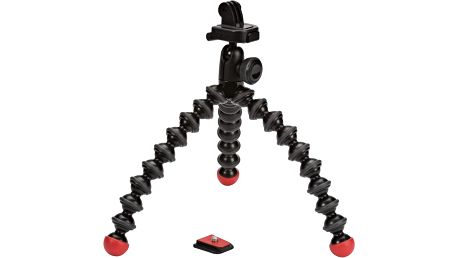 JOBY Action Tripod with GoPro® Mount, černá/červená - E61PJB01300