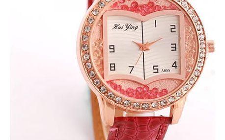 Dámské hodinky pro milovnice knih