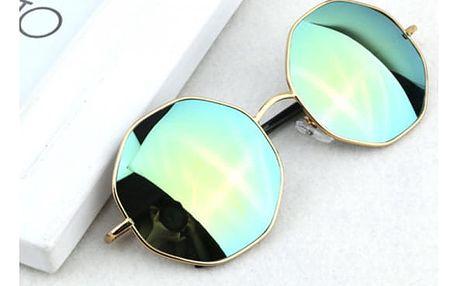 Vysoce módní sluneční brýle v retro provedení