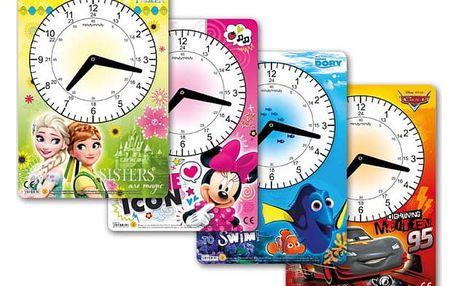Dětské školní hodiny - Ledové království - dodání do 2 dnů