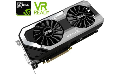 PALiT GeForce GTX 1080 JetStream, 8GB GDDR5X - NEB1080015P2J