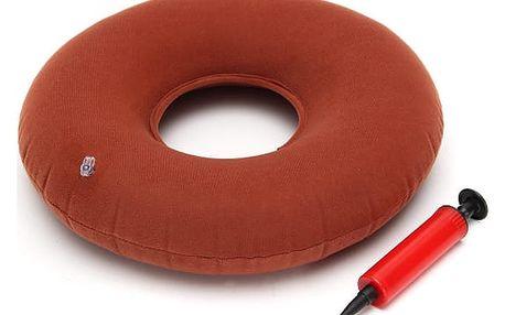 Nafukovací polštář pod zadek s pumpičkou
