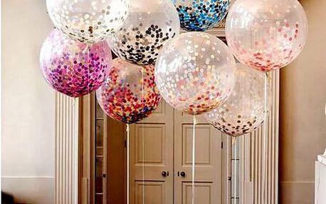 Velký párty balónek s konfetami