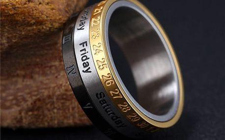 Prsten s kalendářem
