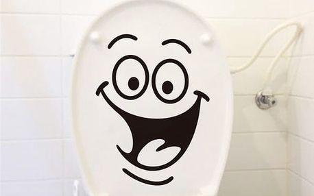 Samolepky na toaletu - 6 provedení