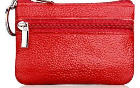 Dámská kožená mini peněženka - více barev