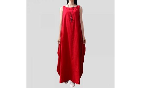 Dámské šaty v rozevlátém stylu